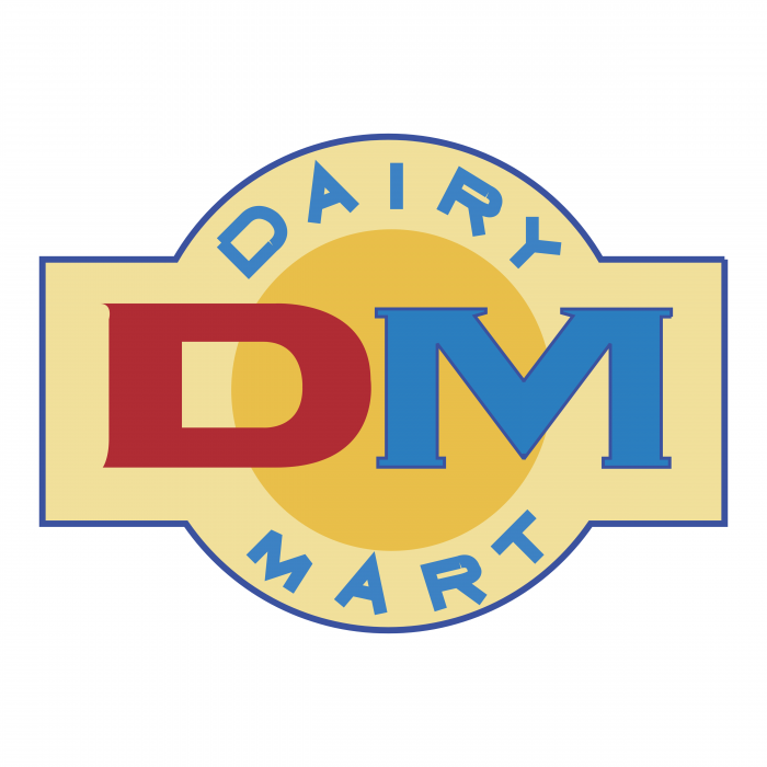 Dairy Mart logo colour