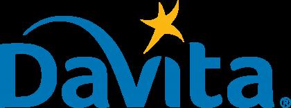 Davita logo blue
