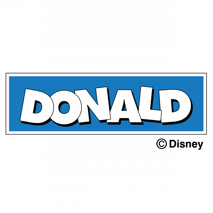 Donald logo blue