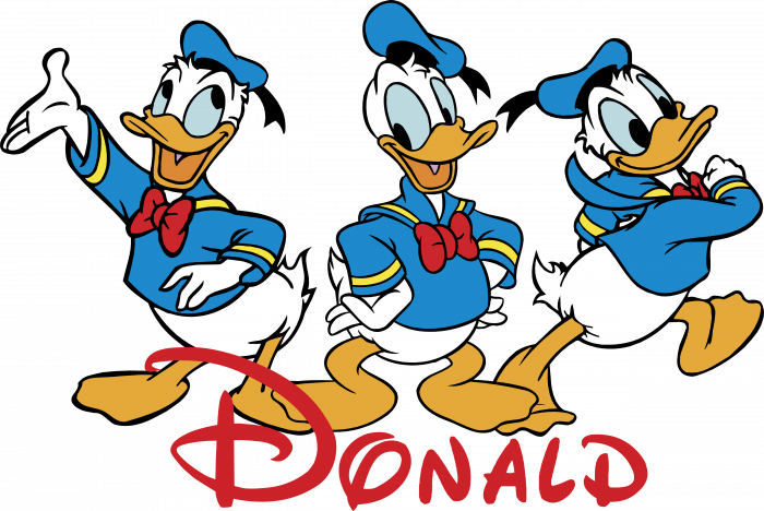 Donald logo ducks