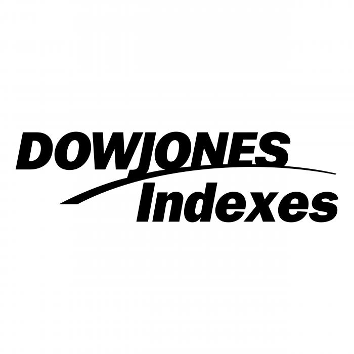 DowJones logo black