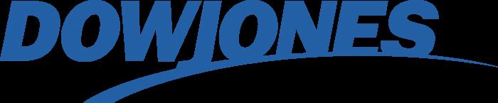 DowJones logo blue