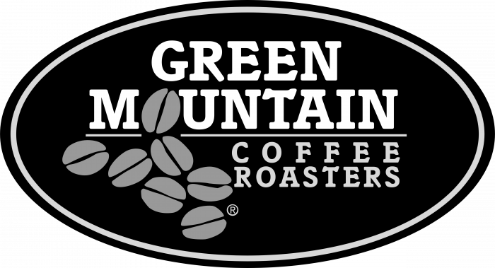 Green Mountain Coffee logo black