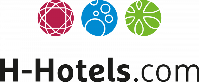 H Hotels com logo colour