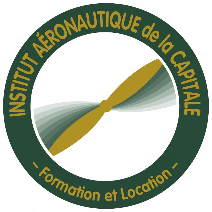 Institut Aeronautique de la Capitale logo blue