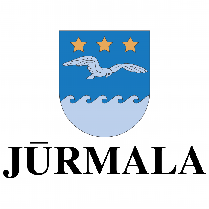 Jurmala logo blue