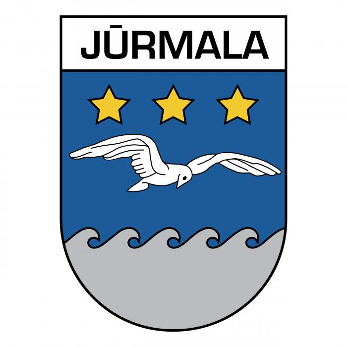 Jurmala logo white