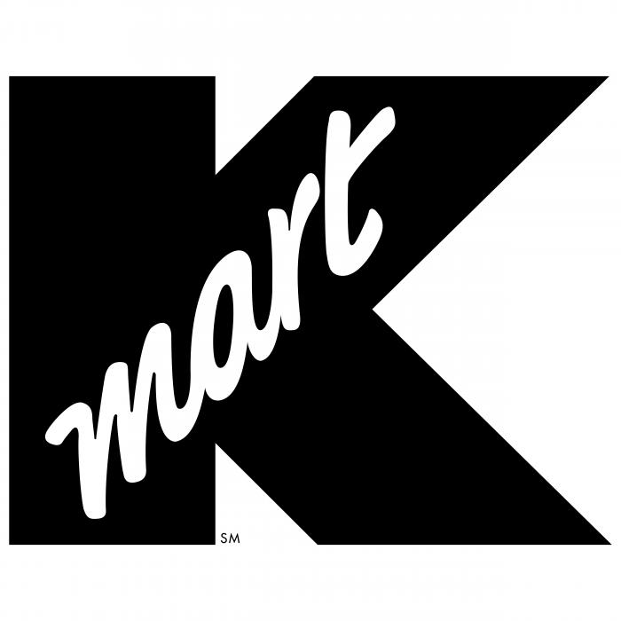 K Mart logo black