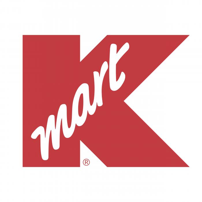 K Mart logo red