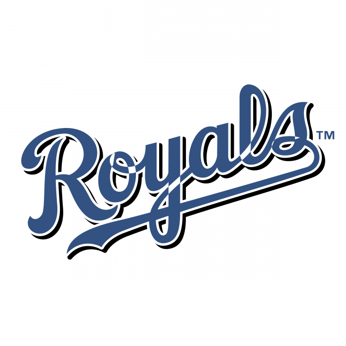 Kansas City Royals logo blue