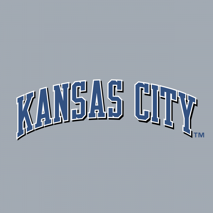 Kansas City Royals logo cube