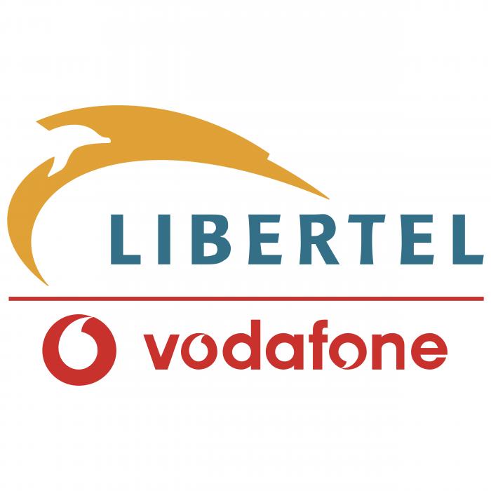 Libertel logo vodafon