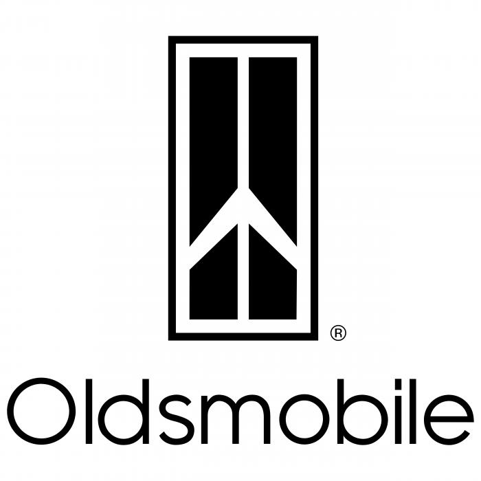 Oldsmobile logo white