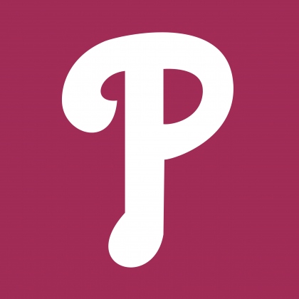 Philadelphia Phillies logo violet