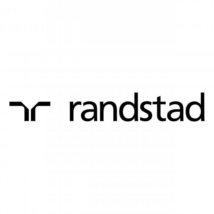 Randstad logo black
