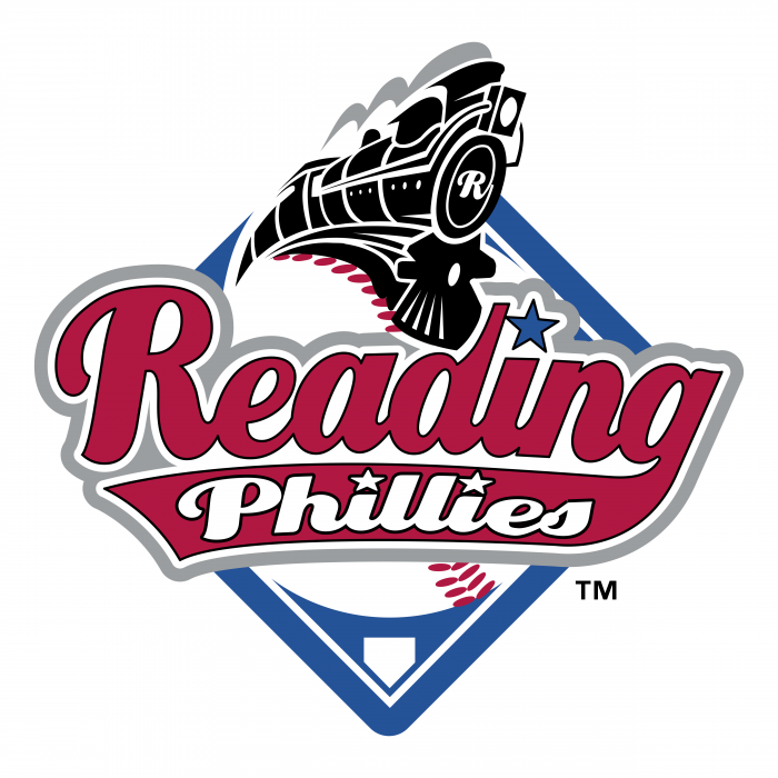 Reading Phillies logo colour