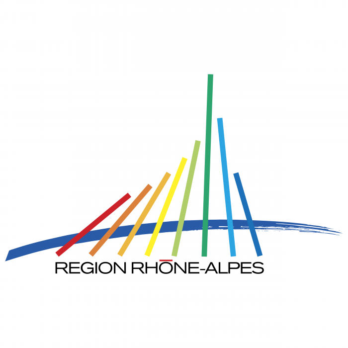 Region Rhone Alpes logo colour