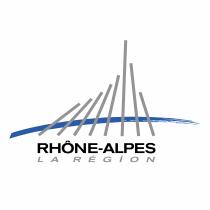 Region Rhone Alpes logo silver