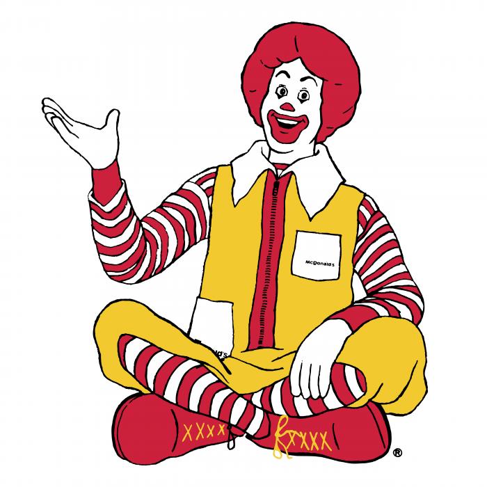 Ronald logo man