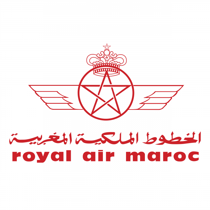 Royal Air Maroc logo red
