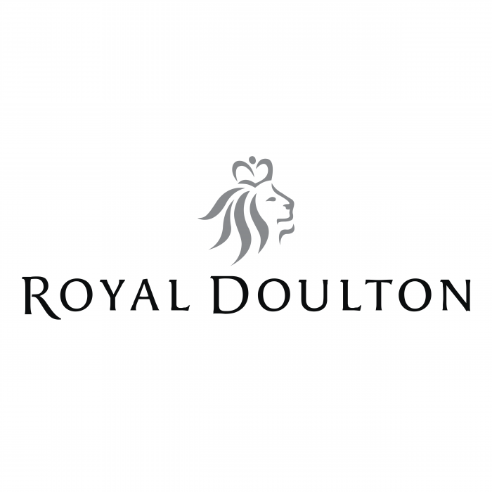 Royal Doulton logo grey