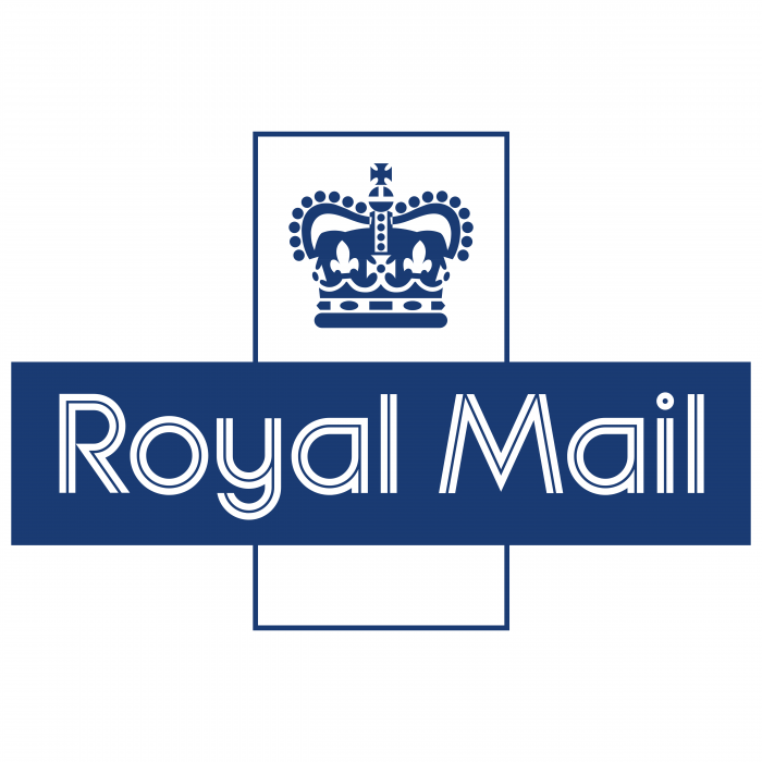 Royal Mail logo blue