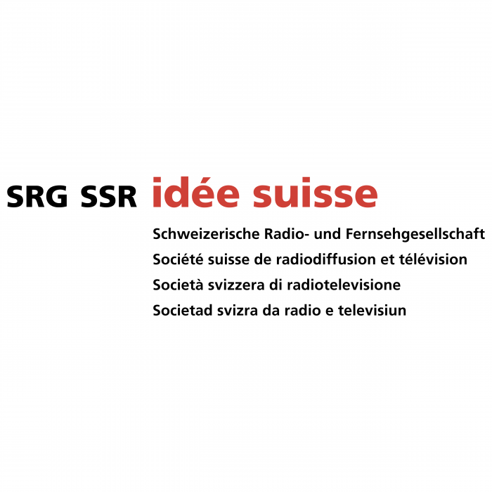 SRG SSR Idee Suisse logo text