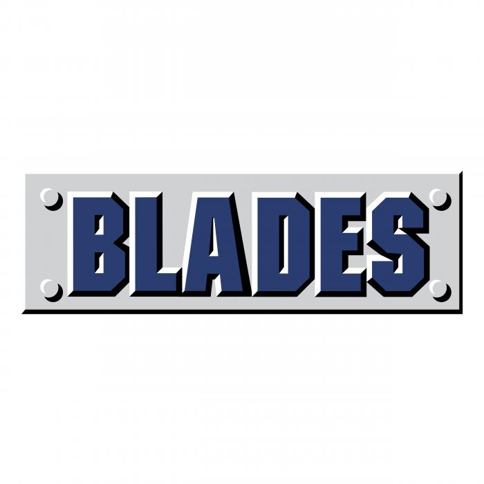 Saskatoon Blades logo blue