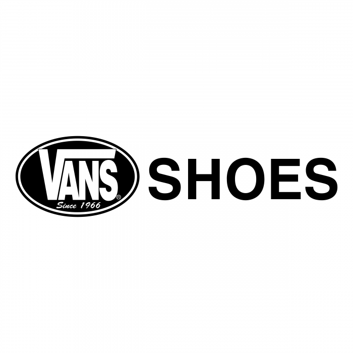 Vans logo shoes