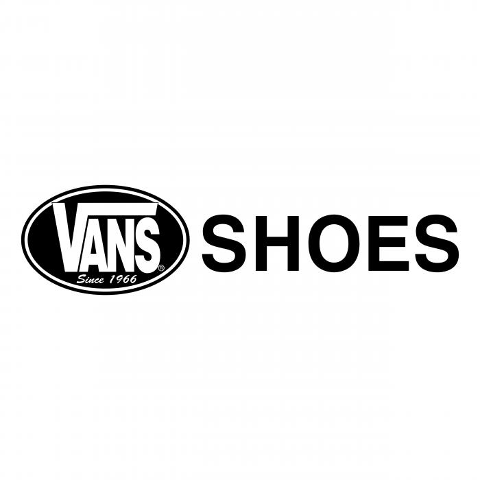 Vans logo shoes