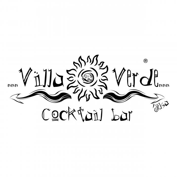 Villa Verde logo black