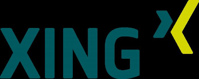 Xing logo coin