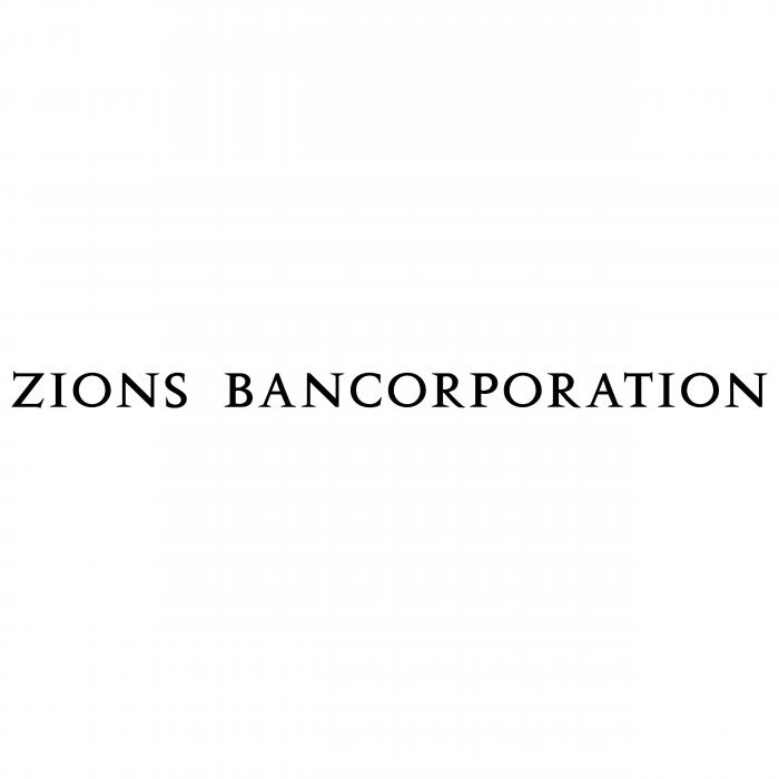 Zions Bancorporation logo black