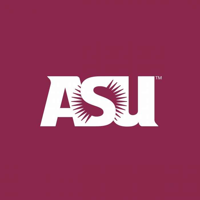 ASU logo cube