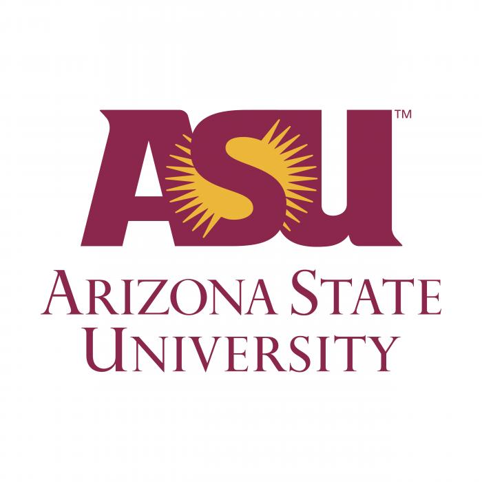 ASU logo violet