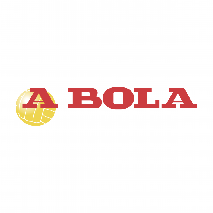 A Bola logo red