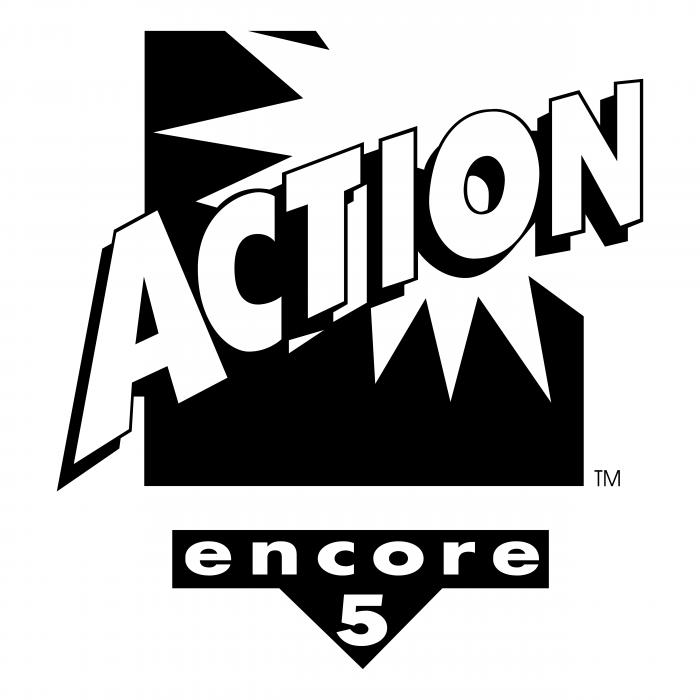 Action logo black