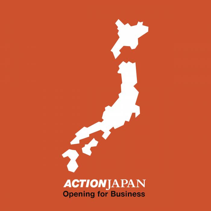 Action logo japan