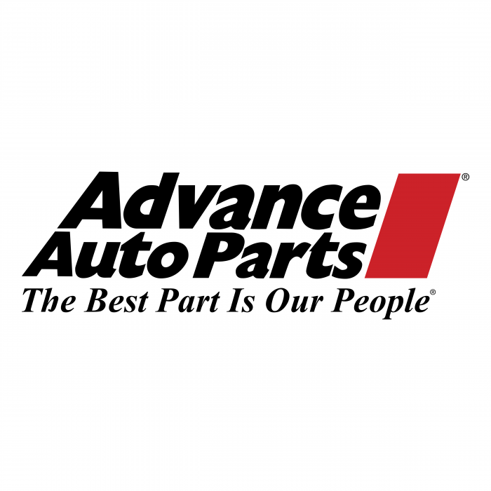 Advaced Auto Parts logo red