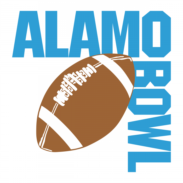 Alamo Bowl logo ball