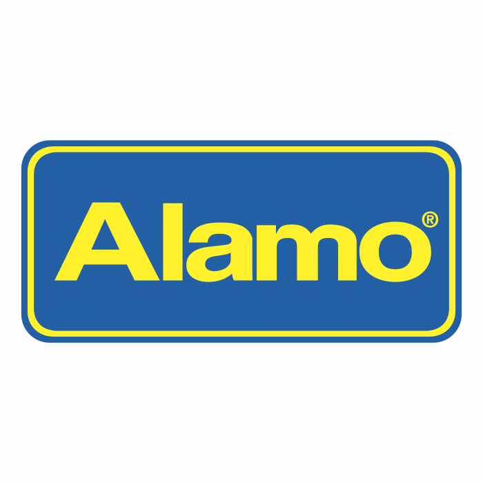 Alamo logo yellow