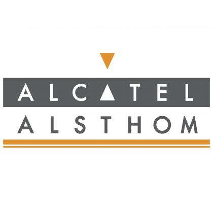 Alcatel logo alsthom