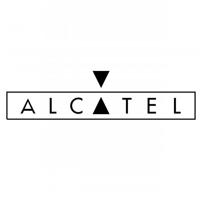 Alcatel logo black