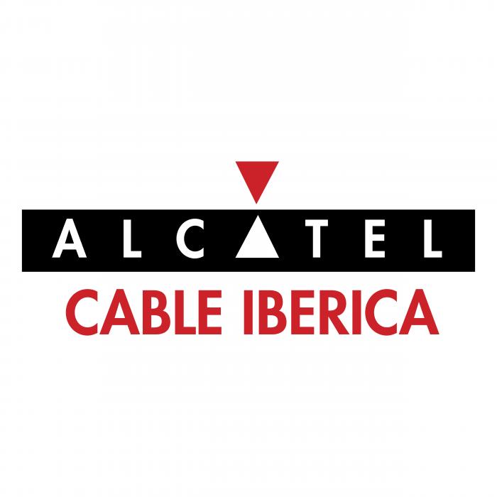 Alcatel logo cable iberica