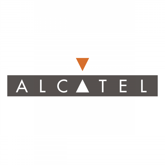 Alcatel logo orange