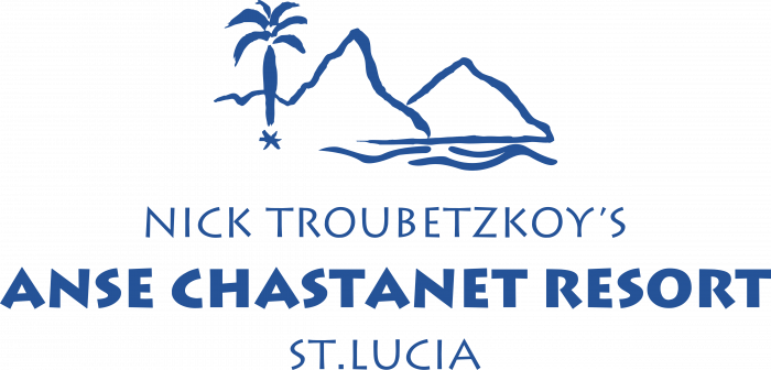 Anse Chastanet Resort logo blue
