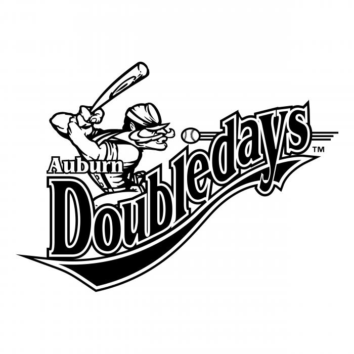 Auburn Doubledays logo black