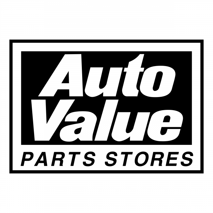 Auto Value logo black
