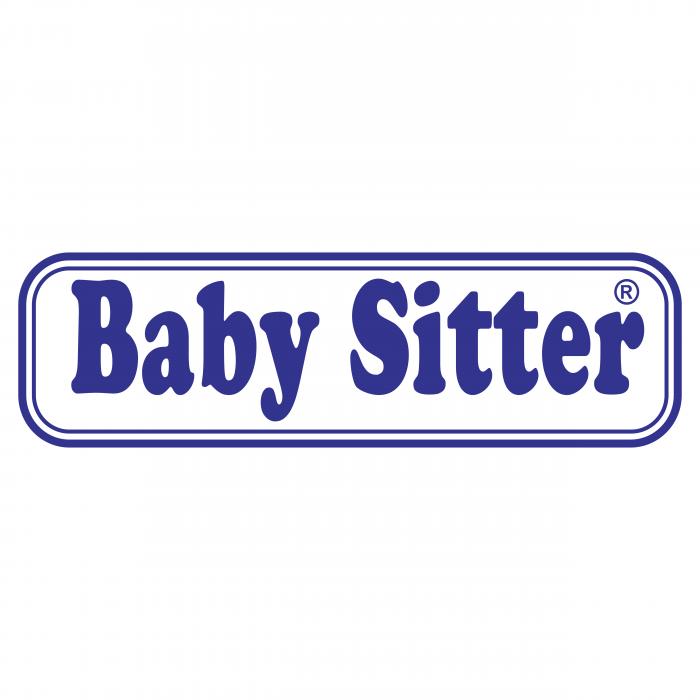 Baby Sitter logo blue