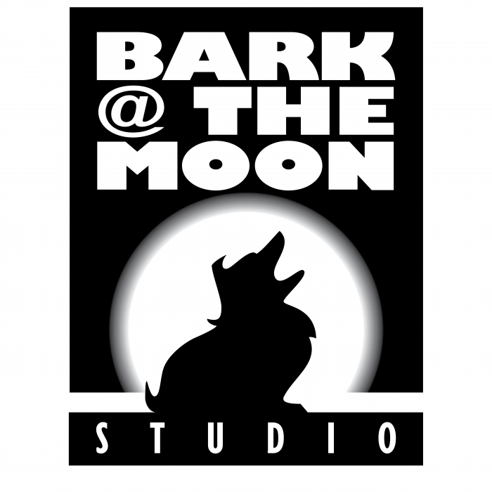 Bark @ The Moon logo black